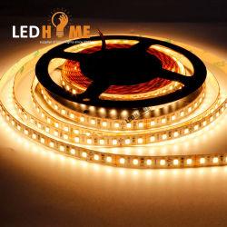 Certificat UL 120LED DC24V 20W/m blanc chaud 2700K SMD2835 Bande LED Flexible pour les points LED sans éclairage linéaire