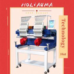 Type 15 van twee Functies van Hoofden MultiNaald voor GLB en de Machine van het Borduurwerk van de Computer van de T-shirt op Verkoop