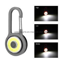 옥수수 속 LED 플래쉬 등 알루미늄 Carabiner 소형 Keychain 옥외 토치 휴대용 밤 어업 빛