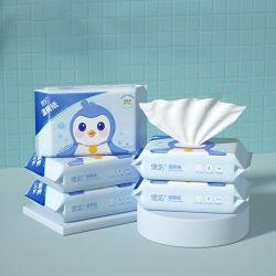 OEM взрослых Flushable индивидуальные одноразовые чистым туалетом влажной бумаги