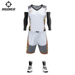 Rigorer Mejor Diseño de Jersey uniforme de baloncesto de la sublimación de las niñas Team