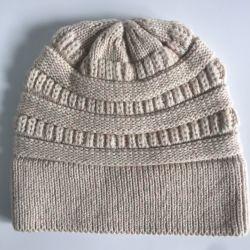 Beanie di nylon/protezione delle lane acriliche lavorato a maglia adulto popolare di modo di inverno