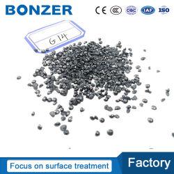 Granulosità d'acciaio abrasiva dell'acciaio della sabbia G41 G16 G25 Derusting del metallo di superficie di brillamento di sabbia