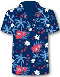 Kundenspezifische Polo-Hemden durch Digital-Drucken im Polyineinander greifen-Gewebe