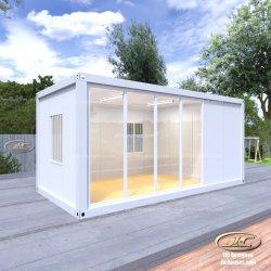 Flat Pack Living Storage Pläne Erweiterbar Preis Sommer Beweglicher Stahl Pre Fab Small Mobile Luxuriöse Tragbare Modulare Vorgefertigte Kleine Prefab Container House
