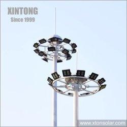 indicatore luminoso di palo di sollevamento dell'albero del sistema LED di 20/30/40m alto con la lampada del proiettore per illuminazione dell'aeroporto del quadrato dello stadio