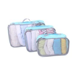 Voyage d'emballage personnalisé Travelsky Cubes 3 Set DE BAGAGES Sac de rangement de l'organiseur