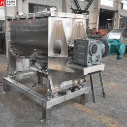 중국 전문 고품질 산업용 스테인리스 스틸 식품 제약 화학 파우더 수평 리본 패들 믹서