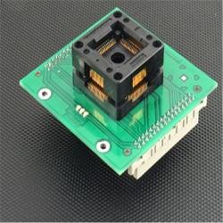 71-3076 Mejor Precio Qfp Ap180 ZIF Nec-7 Adaptador de programación especial adaptador de conector hembra IC