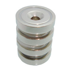 Permanente de la tierra rara industriales calificados/Neodimio NdFeB níquel/bloque de N52/Zn Zinc revestido Pot Magnet