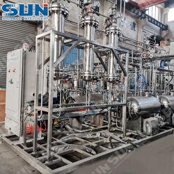 La cromatografía de industriales de Thc de extraer la máquina del aceite de la CDB