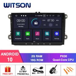 Auto-Audiosystem des Witson Android-10 für Volkswagen/Alhambra/Altea/Exeo/Transportgestell/Cupra/Golf 5 (MK5) Multimedia /Golf-6/Leon/Jetta/Polo/Passat B6/Passat Cc/Sc