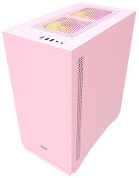 2020 Nouvelle conception et la délicate Hot-Sale Gaming Computer cas avec de couleur rose