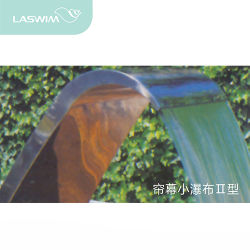 プールの装飾のステンレス鋼水刃の滝