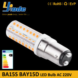 بالموديل Ba15D Ba15s 1156 1157 High Power 2835 LED Vintage Lاللمبة