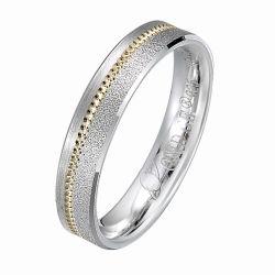 El traje joyas de moda las mujeres de la banda de la boda el anillo de plata esterlina 925 apilable