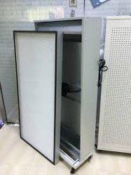Certificado ISO MOTORES UL UFF unidade de filtro de ventilador de fluxo laminar o capô com filtro HEPA ULPA quarto limpo do filtro de aplicativo de Laboratório