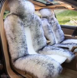 Пэтчворк короткое замыкание шерсть Sheepskin автомобильный чехол подушки сиденья