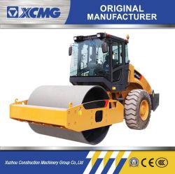 XCMG Officila Xs143j 14トンの販売のための予備品の価格の小さい単一のドラム振動コンパクターの道機械ローラー