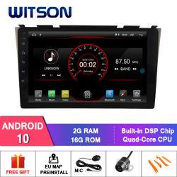 """Grande ecrã de 10,2"""" Witson Android Market 10 aluguer de DVD para Honda CRV 2007"""