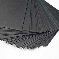 1mm1.5mm 2mm de la papeterie reliure Carton Papier noir