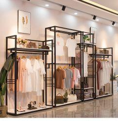 Présentoir en métal de haute qualité boutique raccord pour vêtements Magasin de vêtements