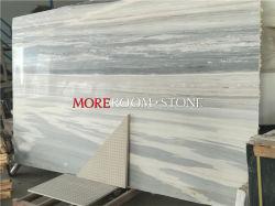 Panel de tamaño grande Palissandro Thin Blue Marble losa de piedra