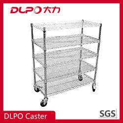 China Factory Metal Retailed Display Rack 상용 디스플레이 와이어 휠