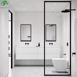 Foshan 제조자 유리제 목욕탕 프레임 검정 샤워 스크린