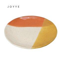 Ruído de moda Two-Tones forma orgânica populares Placa jantar em cerâmica