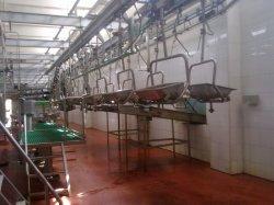 L'abattage balustrade de ligne de convoyeur d'abattage de la carcasse du système de ligne de production pour l'abattoir de porcs