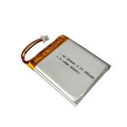 Fabrik UL-CB Hersteller nachladbare Lipo 553640 3.7V 850mAh Lithium-Ionenplastik-Batterie für Bluetooth Kopfhörer