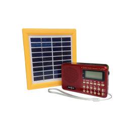 [بورتبل] راديو شمسيّ مع [موبيل فون] يحمّل