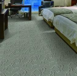 ホテル一面に100%のナイロン房状のカーペット