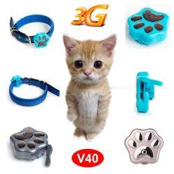 개 고양이 V40를 위한 새로운 3G 통신망 설계 방수 GPS 추적자