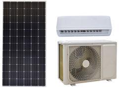 El ahorro de energía solar tipo Split Pared DC/AC híbrido Sistema de aire acondicionado 9000BTU, 12000BTU, 18000BTU y modelos de 24000BTU