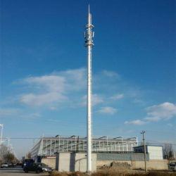 O aço galvanizado Monopole Telecom Torre da Rádio Antena mastro de iluminação