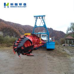 1200m3/H CSD300 Baggerkapazität Diesel Motor angetriebene Sand Pumpmaschine River Extracting Floating Dredge Low Price Schlamm Ton Schlammschneider Saugrotter