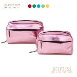 Belüftung-Druck-Verfassungs-Beutel-Handtasche-Reißverschluss-Speicher-Beutel-kosmetischer Handtaschen-Raum-Toilettenartikel-Halter-Wäsche-Beutel-Geschenk-Beutel-kosmetischer Beutel metallische PU 2020