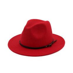 Ретро модный женский шерстяной шапки