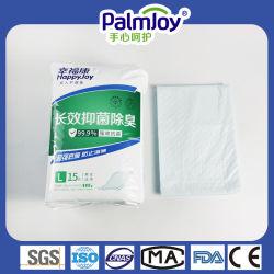 통기성 하단 필름이 있는 PalmJoy Super 흡수성 모성위생 패드