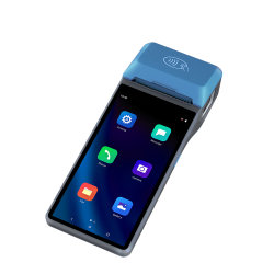 6 pulgadas de mano de IPS POS 10.0 para Android OS Módulo Fiscal de la Terminal de pago Cashless