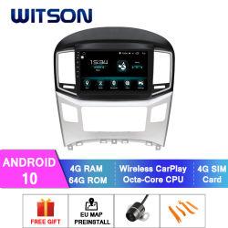 Witson Android Android 10 de l'autoradio pour Hyundai 2016 H1 4 Go de RAM 64 Go de mémoire Flash grand écran dans la voiture lecteur de DVD