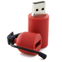 Пвх перо диск диск огнетушителя USB2.0 флэш-накопитель USB Flash Drive карты памяти Memory Stick U диск