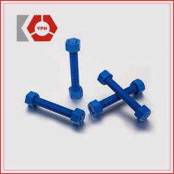 ASTM A193 B7 亜鉛めっきねじロッドスタッドボルトおよびナット卸売