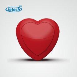 Los latidos del corazón en forma de corazón las vibraciones para el módulo de peluches