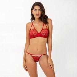 2020 de Lingerie M9017 van de Dag van de Sexy Valentijnskaarten van vrouwen met Underwire