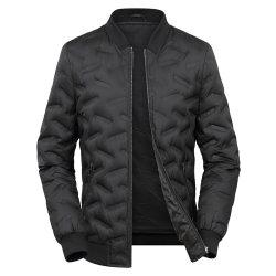 大きいサイズの人のアヒルのジャケットの暖かい防水ジッパーのコート