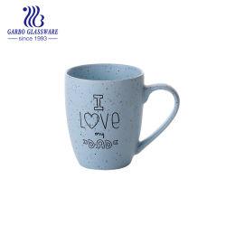 tazza di ceramica del tè lustrata 370ml della tazza di caffè della porcellana con la maniglia Tc0902370-B-Th1