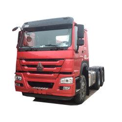 Bon état 2017 utilisé à bon marché HOWO camion tracteur Chef 371HP 6X4 Prime Mover pour la vente